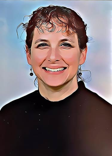 Carole Thierrin characterisation cartoon