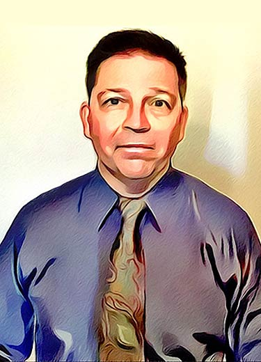 Dr Ferenc Nemeth in cartoon format